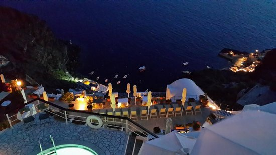 Fanari Villas: View from Dining area