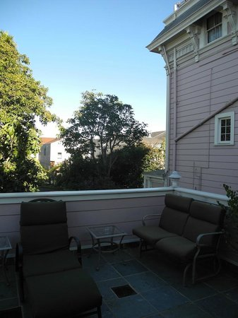 The Inn San Francisco : Terrasse Zimmer 44