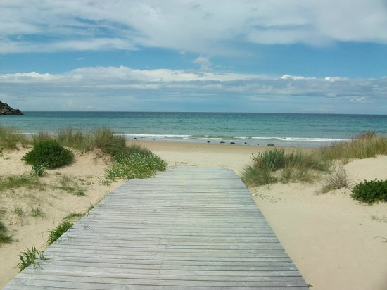 Santona, Španielsko: Playa de Berria
