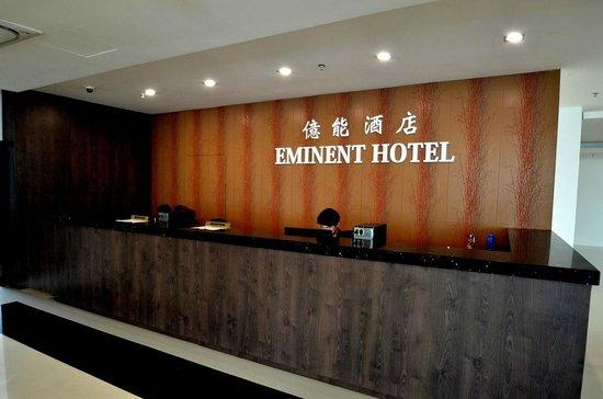 Eminent Hotel: frontdesk