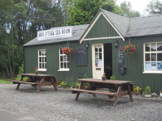 Brig o' Turk Tearoom and Restaurant : von außen