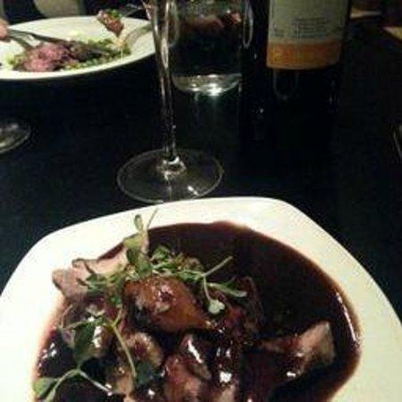 Donostia Restaurant: deer in portsauce