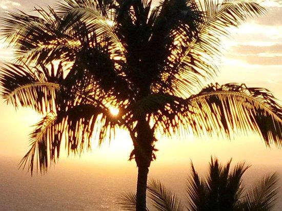 Koh Tao Star Villa : Sun Setting