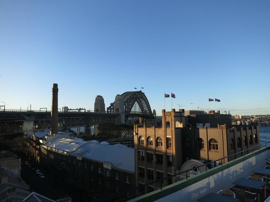 Holiday Inn Old Sydney : View from the hotel roof
