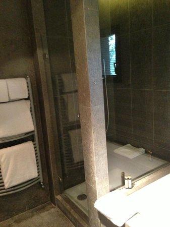 Alpaga : choix entre douche à l'italienne ou baignoire