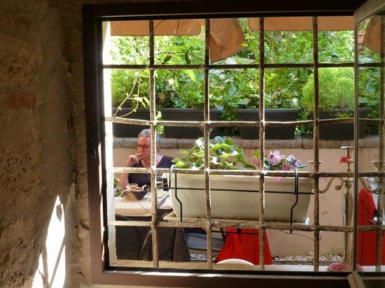 La Cantina del 15: Blick nach draußen