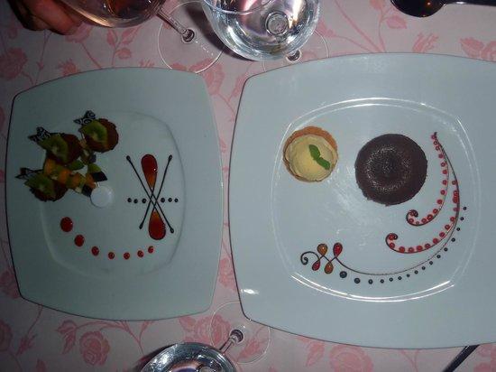 Domina Coral Bay Prestige Hotel : amazing desserts in Plaisirs restaurant