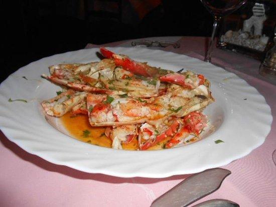 Hotel Glenn : Des pinces de King-Crabes - excellent -