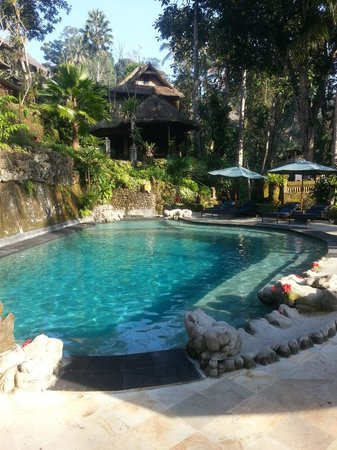 Hotel Tjampuhan & Spa: The newly renovated pool