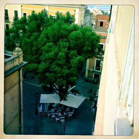 Hostel Marina: Widok z okna