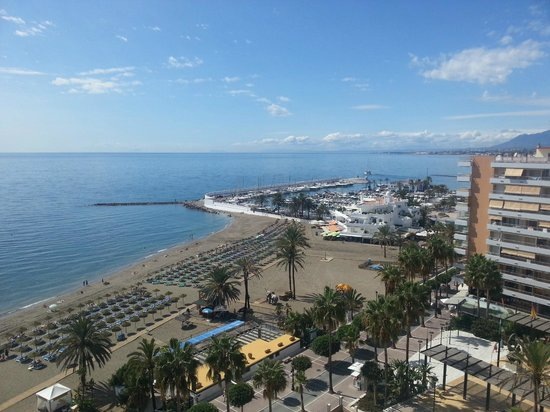 Aptos. Mediterraneo: View from our Apartment on the 9th Floor