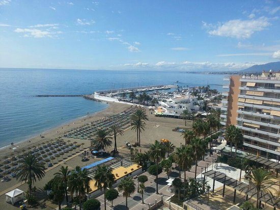 Aptos. Mediterraneo: View of the port from hotel