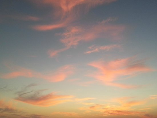 Aptos. Mediterraneo: Sky View at the evening