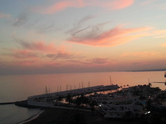 Aptos. Mediterraneo: amazing views from our balcony