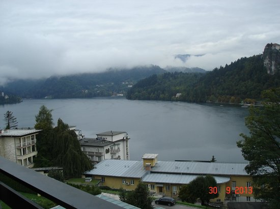 Golf Hotel Bled: View fm the room