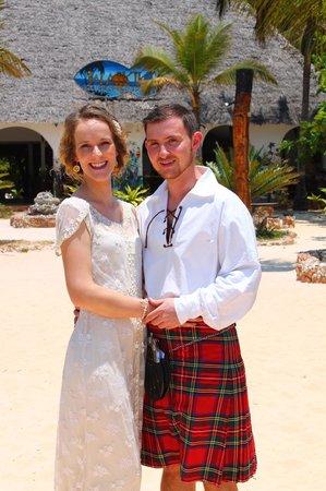 Waikiki Zanzibar Resort: Our Wedding day