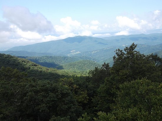 Lewis Mountain Cabins: One of the many views