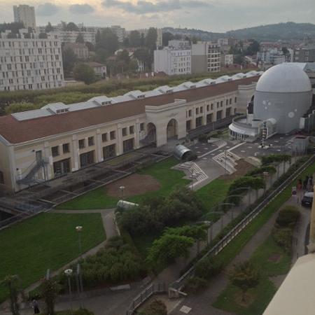 Saint-Etienne, France: planetarium