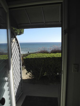 Cottage Inn by the Sea : Zimmerausblick