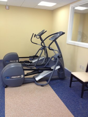 Holiday Inn Bar Harbor Regency : Disappointing Fitness Facilities