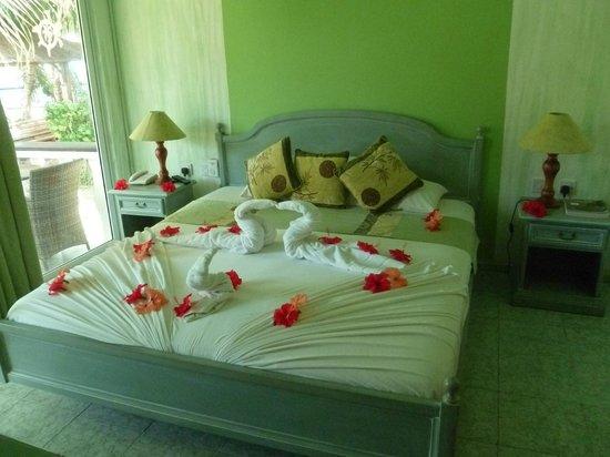 Le Relax Beach Resort: Vue de la chambre