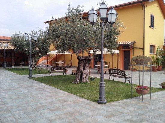 Agriturismo Masseria I Risi: central area