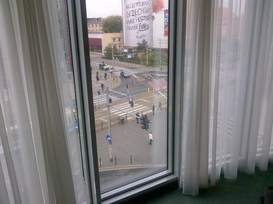 Mercure Wroclaw Centrum: Vista dalla camera