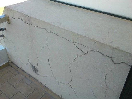 Barceló Montecastillo Golf: Muro de la terraza