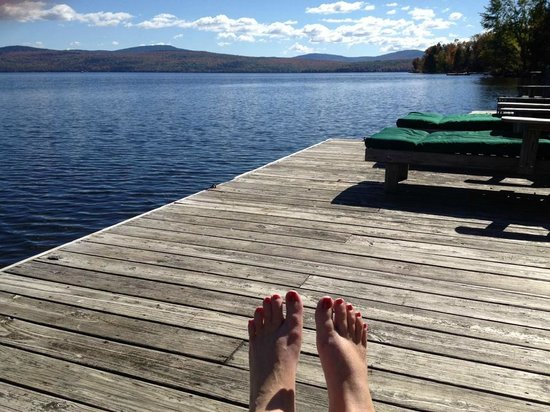 Hunter Cove Cabins on Rangeley Lake: Meditation paradise