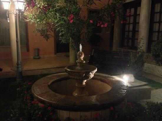 Hotel Boutique Mi Pueblo Samary : Muy bonito jardin, a todas horas