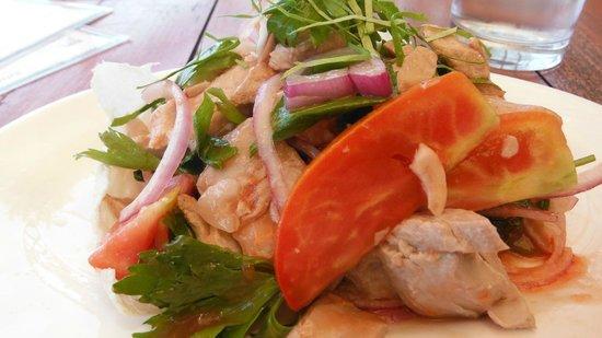 Thai/Sushi Fusion : Yam tuna (thai tuna salad)