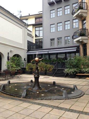 Hotel Bergs: Outside