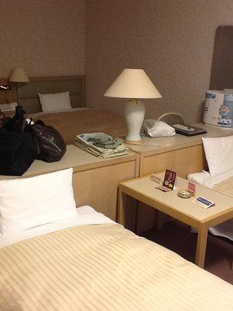 4人部屋のベッド配置です。