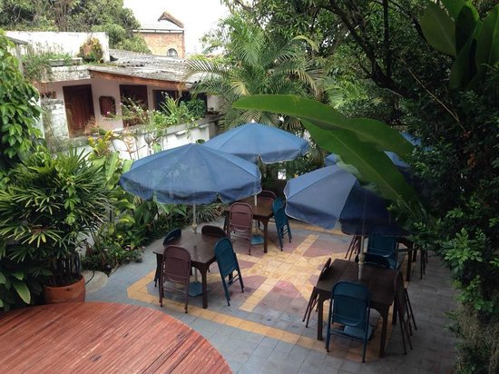 Jardin Azul: View from our balcony