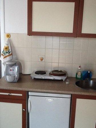 Niriides Studios: πληρως εξωπλισμενη κουζινα