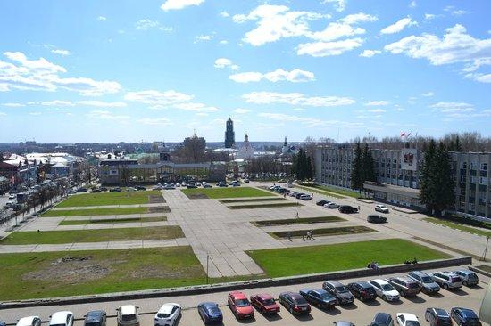 Posadsky Hotel: Вид с балкона