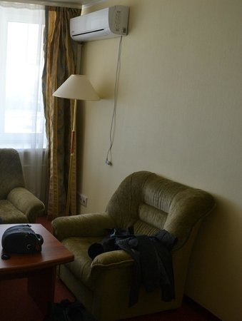 Posadsky Hotel: Холл и кондицинер ;-)