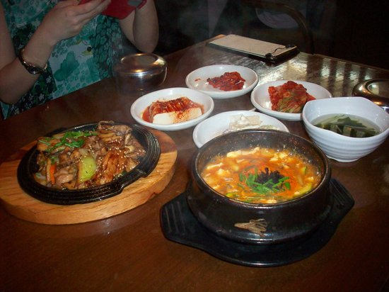 Insadong : Food for lunch