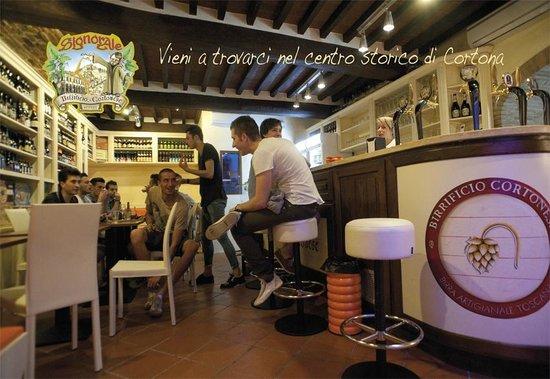 Birrificio Cortonese: Il Locale