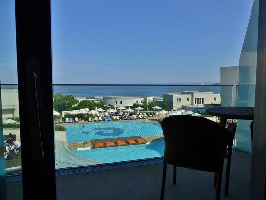 Kempinski Hotel Adriatic Istria Croatia: Blick vom Balkon