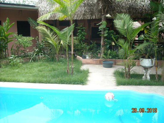 Maracuja City Resort : Pool with view to the garden