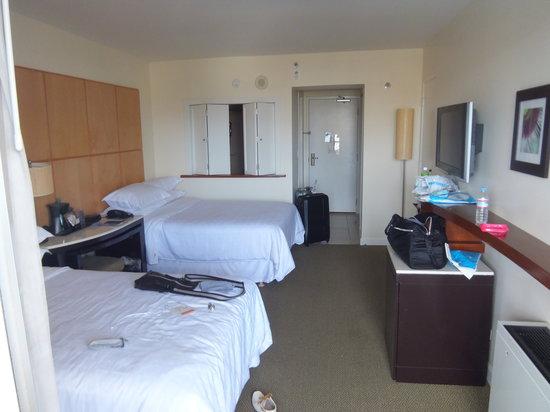 Sheraton Waikiki: 部屋の様子