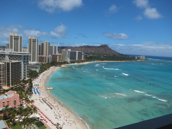 Sheraton Waikiki: 部屋からみた景色