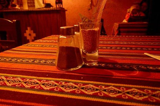 Quinoa: vue de notre table