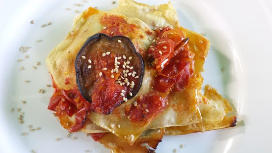 Agriturismo e Ristorante Sanvitale: mmmm...lasagne vegetariane