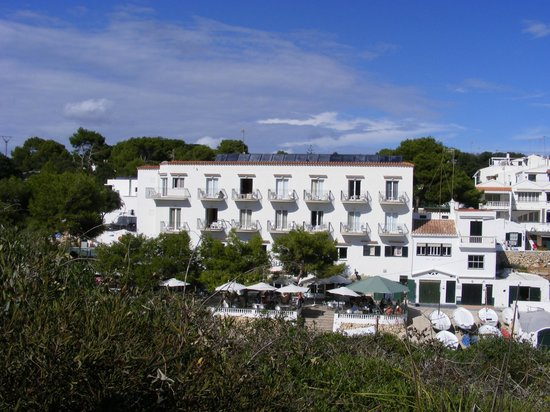 Hotel Xuroy Alcaufar : View from opposite cliff walk