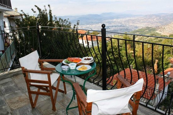 Erofili Hotel : breakfast with a great view