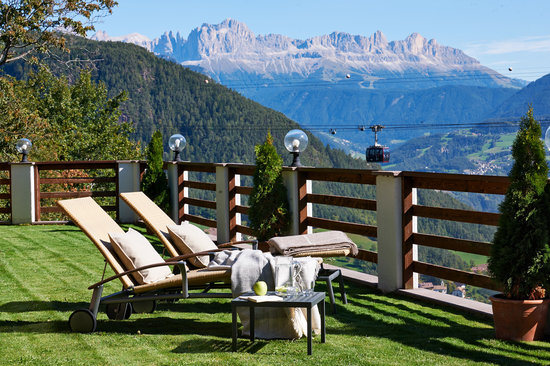Chalet Grumer Suites&Spa: Panorama terrace