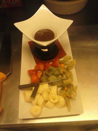 Brasserie Traube: Schokofondue