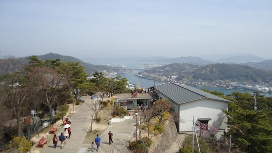 Onomichi, Japan: 展望台より